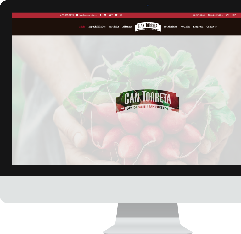 Diseño web WordPress para Can Torreta