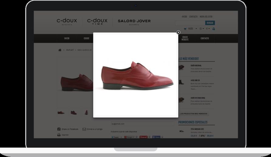 Diseño e-commerce para C-Doux
