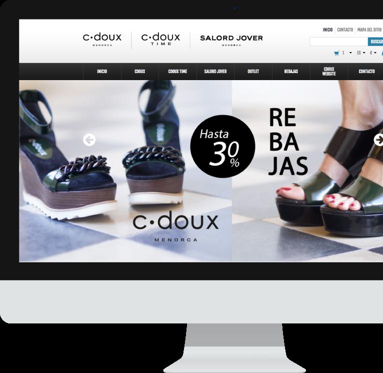 Diseño de tienda online para C-Doux