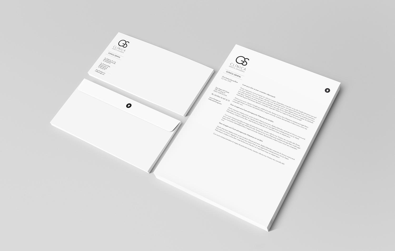 Identidad Corporativa para Clínica GS