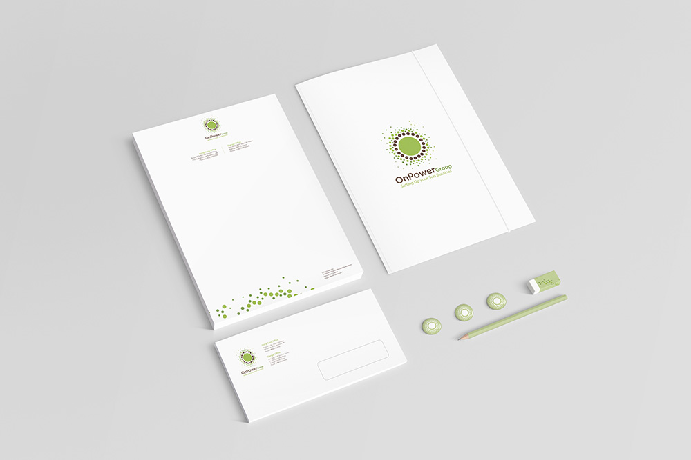 Identidad Corporativa para OnPower