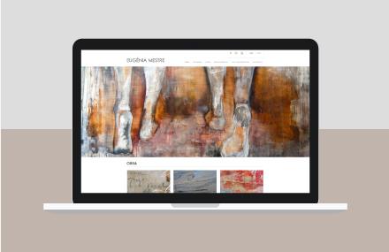 Web para Eugenia Mestre