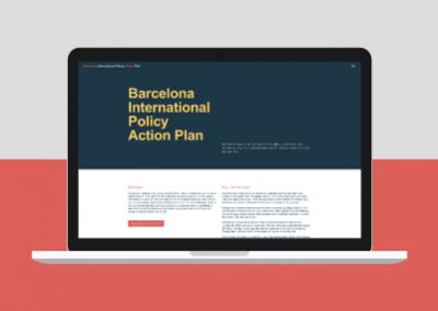 WordPress para BCN Action Plan